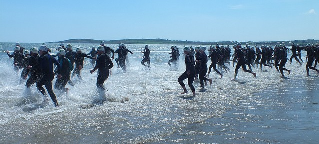 port beach swim start