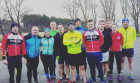 Group picture from a long run session in the Phoenix Park.