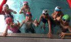 A junior swim class.